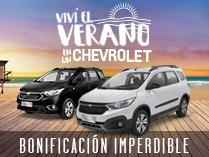 Oferta de Chevrolet Spin y Spin Activ