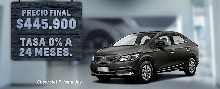 Oportunidad en Chevrolet Prisma Joy+
