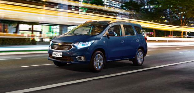 Chevrolet Spin con bonificación y financiación exclusiva