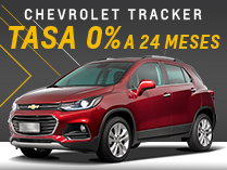 Financiación para Chevrolet Tracker