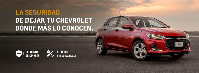 Servicio Personalizado Postventa Chevrolet en Concesionario Oficial