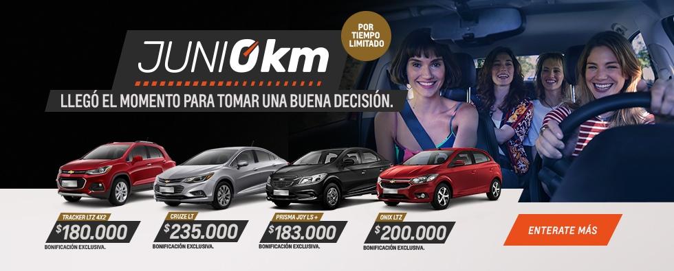 Chevrolet 0km Plan de Descuentos del Gobierno