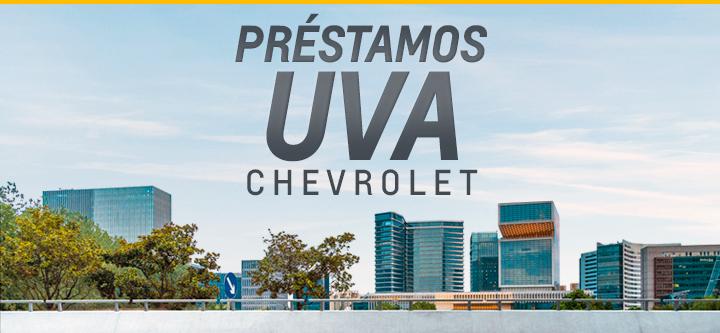 Créditos UVA en Chevrolet