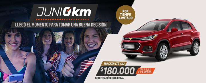 Chevrolet Tracker Premier FWD 0km Plan de Descuentos del Gobierno