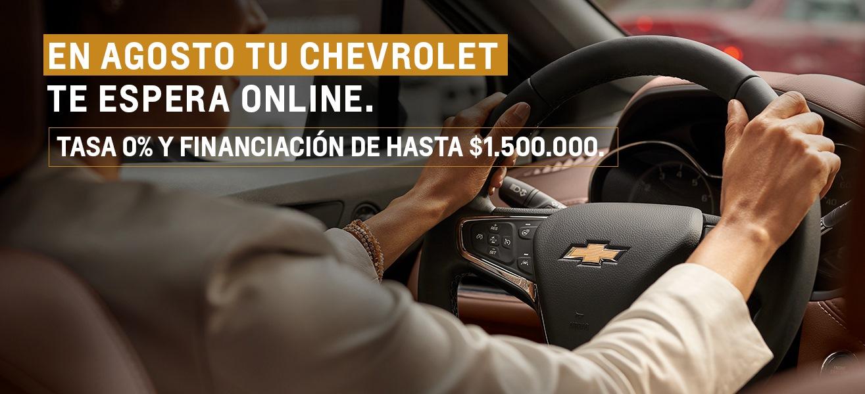 Beneficios  del mes de Agosto en Concesionario Oficial Chevrolet