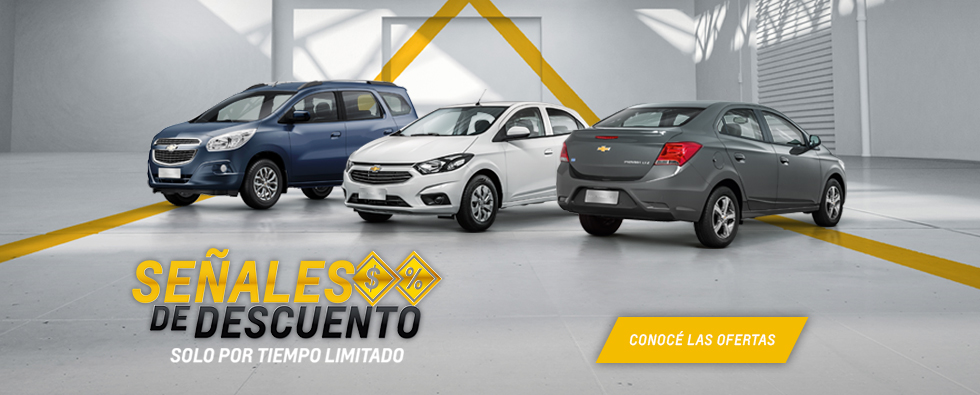 Señales de Descuentos Chevrolet