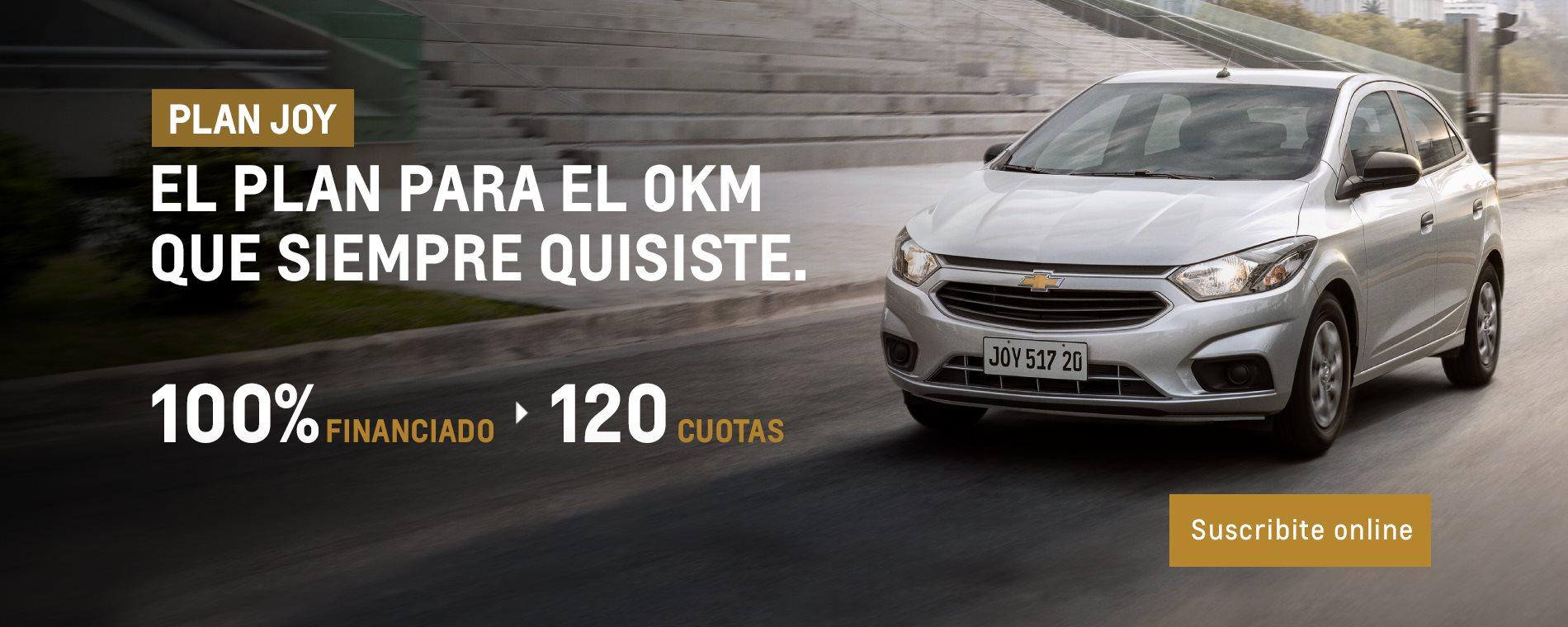 Plan Chevrolet Primer 0km Nuevo Joy