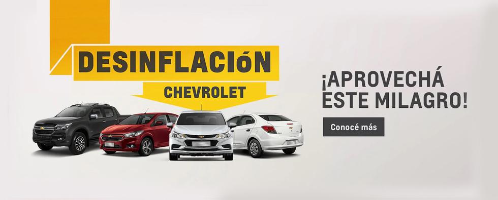 Desinflación Chevrolet