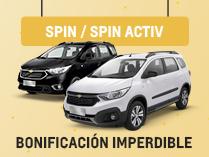 Oferta en Chevrolet Nueva Spin 2019