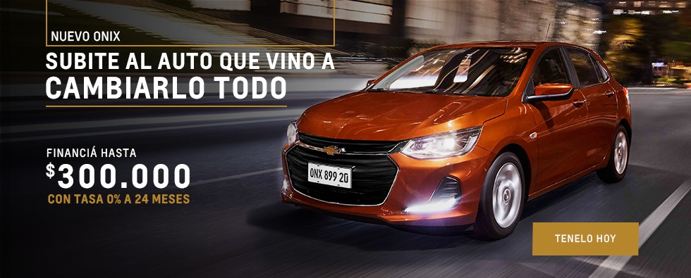 Nuevo Chevrolet Onix-Concesionario Oficial Chevrolet-Akar