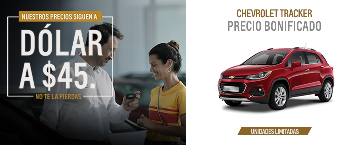 Oportunidad en Chevrolet Tracker