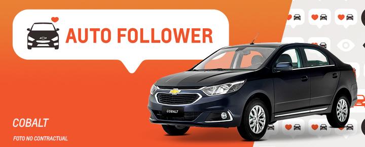 Auto Follower Chevrolet Cobalt