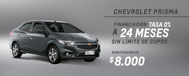 Oferta Chevrolet Prisma