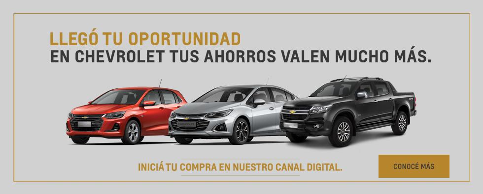 Compra Digital de Chevrolet 0km