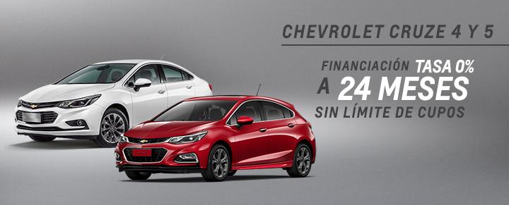 Oferta Chevrolet Cruze 4 y 5