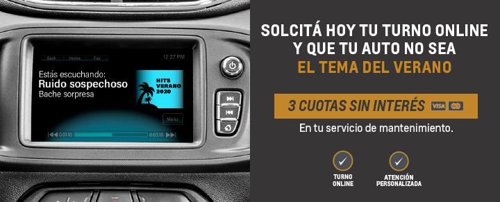 Servicio Personalizado Postventa Chevrolet 6 cuotas sin interes