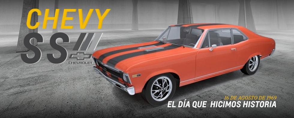 Aniversario de lanzamiento Chevy SS