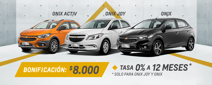 Chevrolet Onix Onix Activ Y Onix Joy Ofertas Rpm