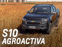 Chevrolet S10 en Agroactiva