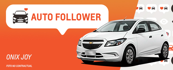 Auto Follower Chevrolet Onix Joy