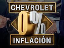 Chevrolet 0% Inflación - Oportunidades Febrero 2020