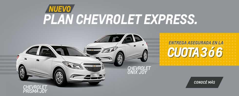 Nuevo Plan Chevrolet Express
