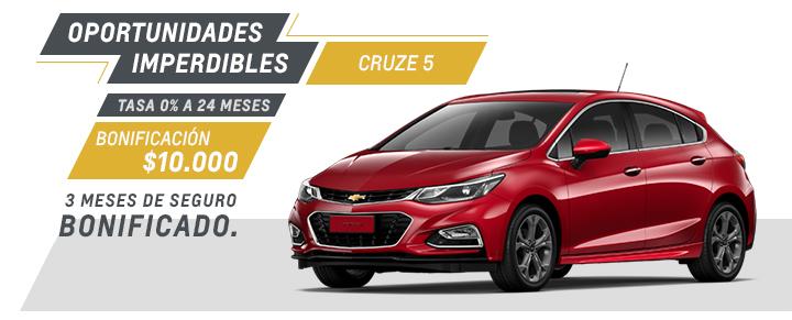 Chevrolet Cruze 5 - Oferta nacional Septiembre