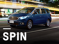Chevrolet Spin con bonificación y financiación exclusiva