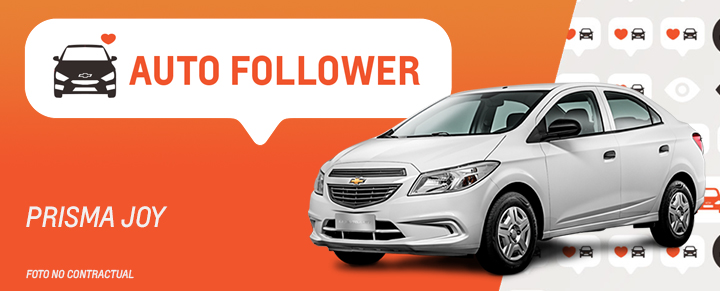 Auto Follower Chevrolet Prisma