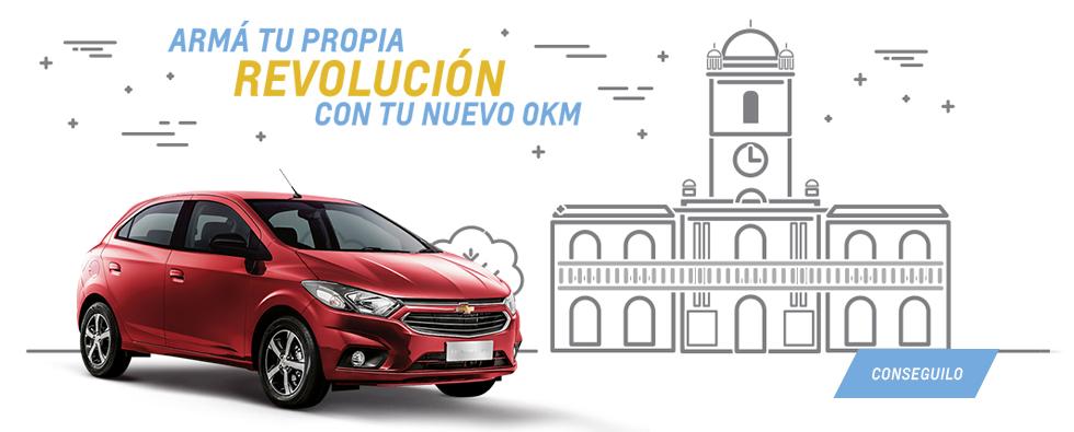25 de Mayo, revolución en Chevrolet