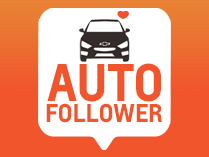 Auto Follower Chevrolet 0km