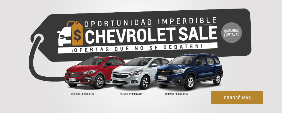 Oportunidad Increible Chevrolet Sale