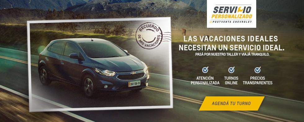 Servicio Chevrolet Vacacional 2019