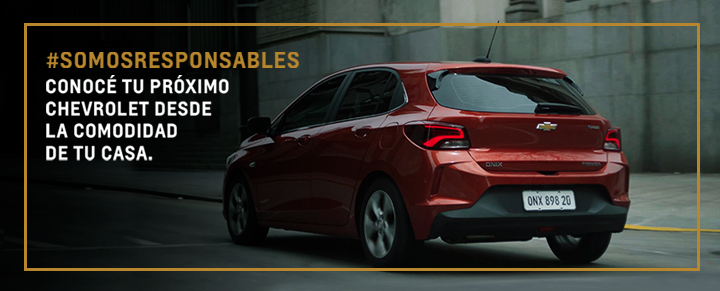 #SomosResponsables - Oportunidades Chevrolet