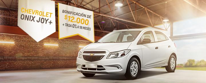 Oferta en Chevrolet Onix Joy