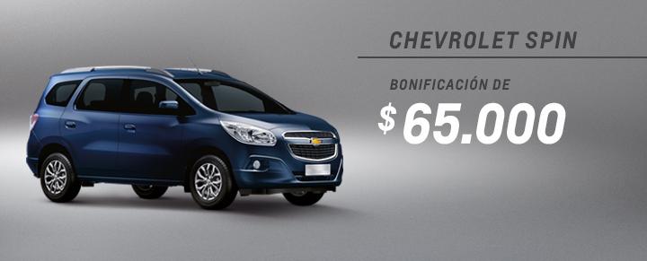 Oferta Chevrolet Spin