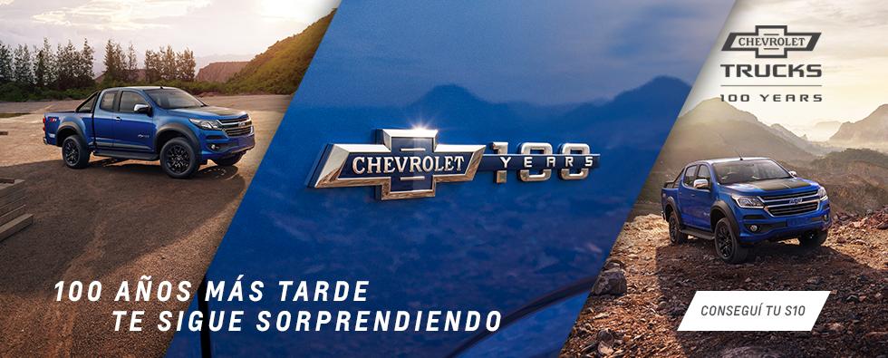 S10 100 años Chevrolet