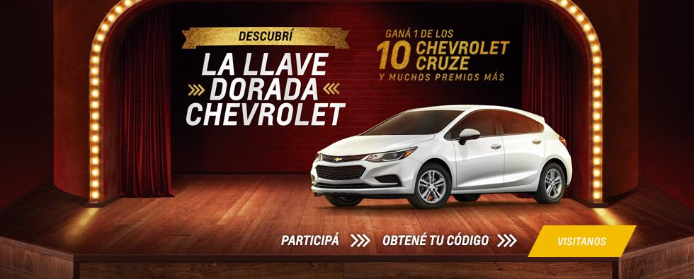 Descubrí la Llave Dorada Chevrolet