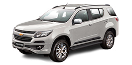 Chevrolet Trailblazer color Switchblade Silver