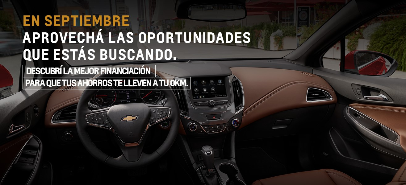 Financiaciones en Chevrolet 0km