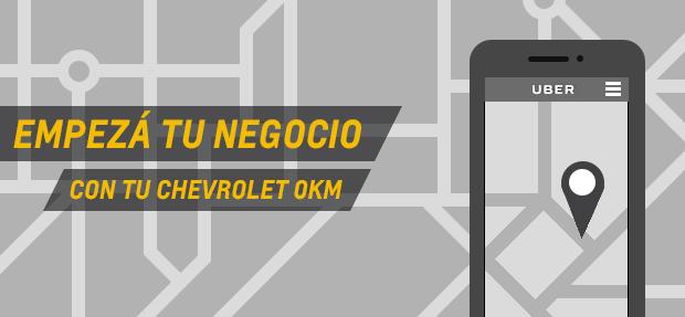 Chevrolet 0km para Uber