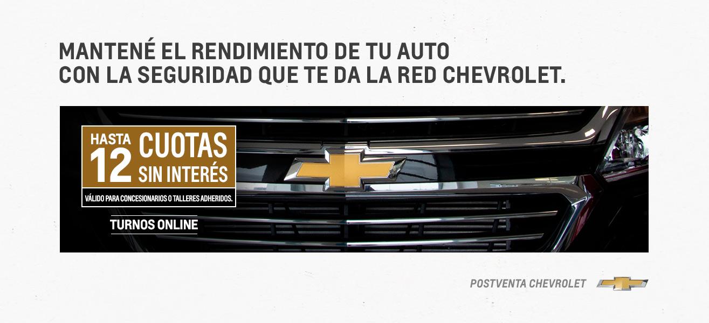 Repuestos Originales Chevrolet en Concesionario Oficial