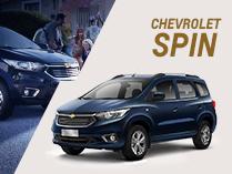 Oportunidades Chevrolet en Spin - Juli0km