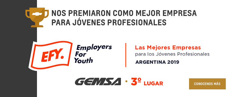 Chevrolet Gemsa 3° puesto en el estudio de EFY – Employers for Youth