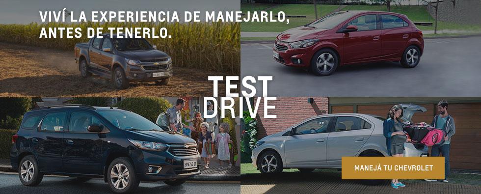 Chevrolet Test Drive en Tucumán y Santiago del Estero
