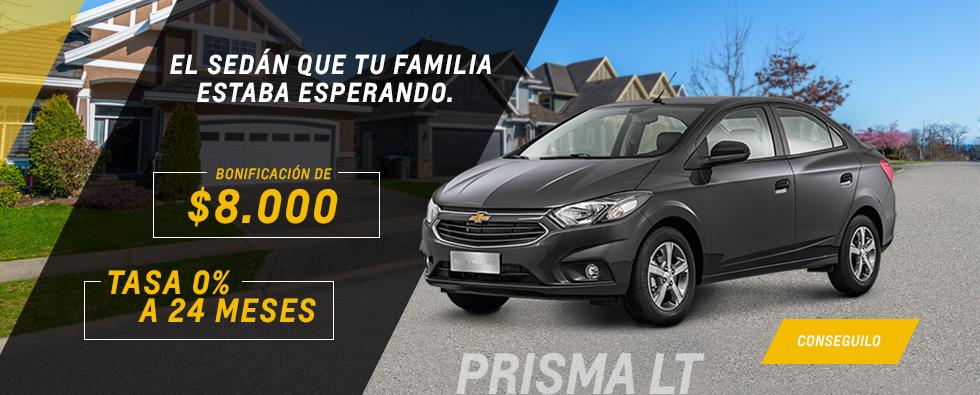 Oferta en Chevrolet Prisma de Gemsa Automotores