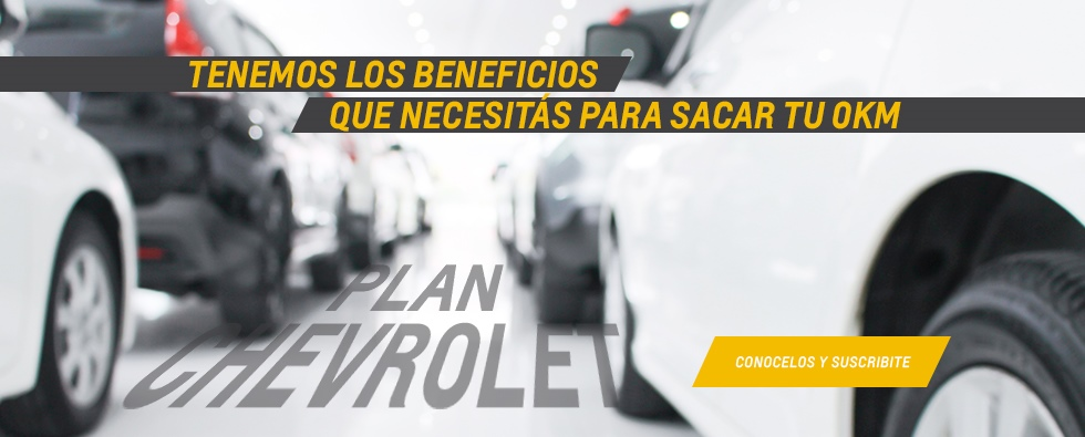 Plan Chevrolet de Gemsa