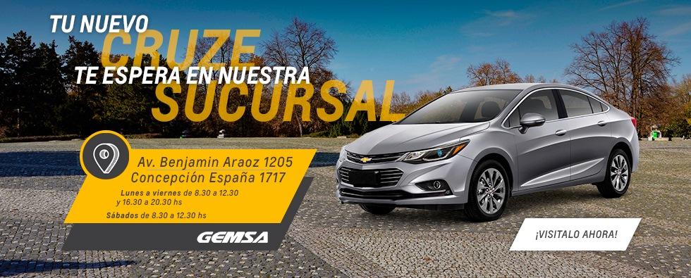 Chevrolet Cruze en Tucumán