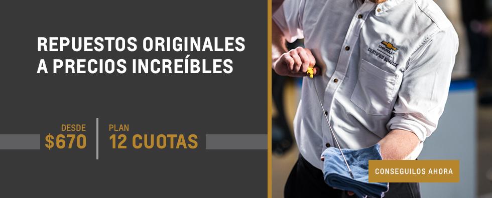 Repuestos Originales Chevrolet en Tucumán y Santiago del Estero