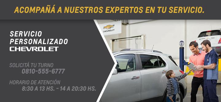 Servicio personalizado Chevrolet Gemsa